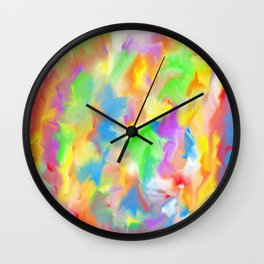 Unicorn Lollipop 4 Wall Clock