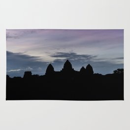 Angkor Wat at Sunrise II, Cambodia Rug