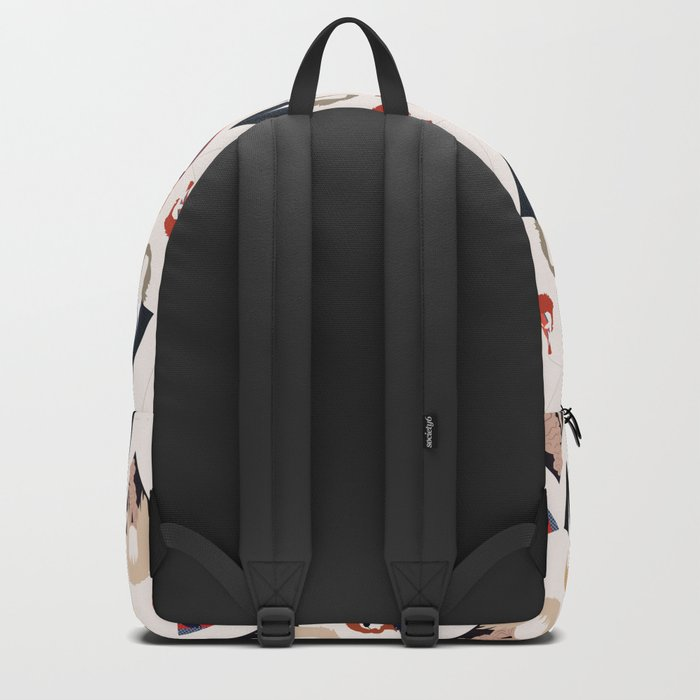 Bowie Tribute Backpack