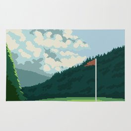 Golf Course Rug