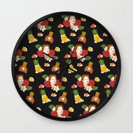 HAWAIIAN SUSAN SARANDON  Wall Clock