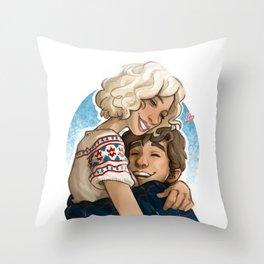 Norma & Norman Throw Pillow