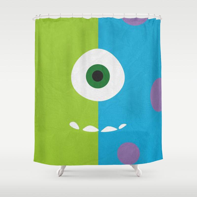Mike Wazowski Shower Curtain by Redocean CTN9000658