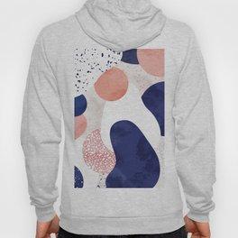 Terrazzo galaxy pink blue white Hoody