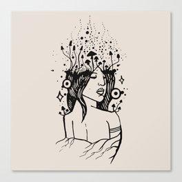 Queen of Spores Canvas Print