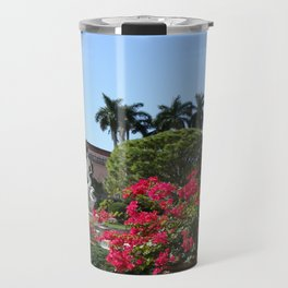 Bougainvillea Row Travel Mug
