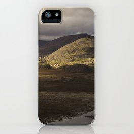 Clouds, Land, Water iPhone Case