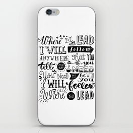 Where You Lead | Gilmore Girls iPhone Skin