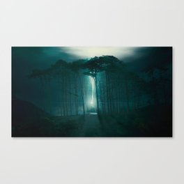 The Elder Wand lies with him Canvas Print