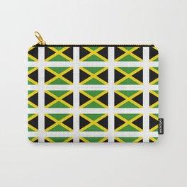 Flag of Jamaica 2-Jamaican,Bob Marley,Reggae,rastafari,cannabis,ganja,america,south america,ragga Carry-All Pouch