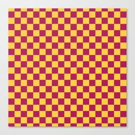 Checkered Pattern VII Canvas Print