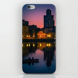 Night boating iPhone Skin
