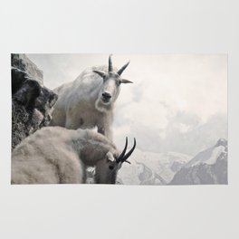 Hi, we are the mountain goats Rug