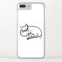 Cat II Clear iPhone Case
