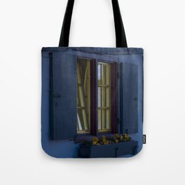 Hotel crooked house Fischer quarter Ulm Tote Bag