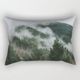 In the Clouds Rectangular Pillow