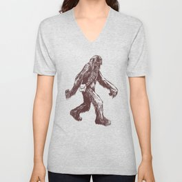 I Think There's a Squatch... Unisex V-Neck