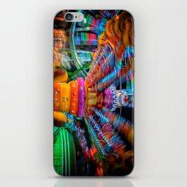 Cray Cray crazy fun at the carnival iPhone Skin