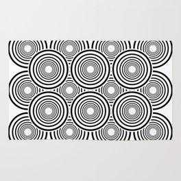 Circle optical effect Rug
