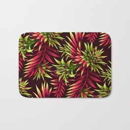 Aechmea Fasciata - Green/Pink Bath Mat