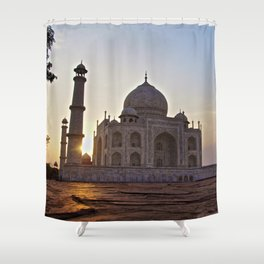 Sunrise Taj Shower Curtain