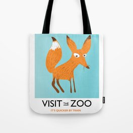 Visit the Zoo Fox edition Tote Bag