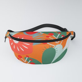Cacti, fruits and flowers Fanny Pack