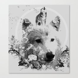 Wolfisticated Canvas Print