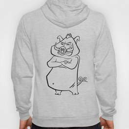 Wild Boar Angry Pig Chinese horoscope Hoody