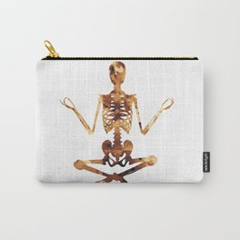 Meditating skeleton Carry-All Pouch