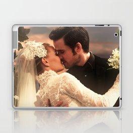 CAPTAIN SWAN WEDDING Laptop & iPad Skin