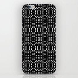 Graphite Milk Crate Razor Blades iPhone Skin