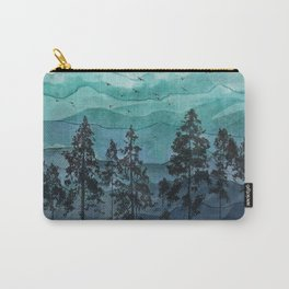 Mountains II Carry-All Pouch