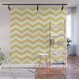 Yelow Chevron Wall Mural