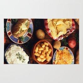 Potato Foods Rug