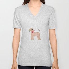 Wheaten Terrier Unisex V-Neck