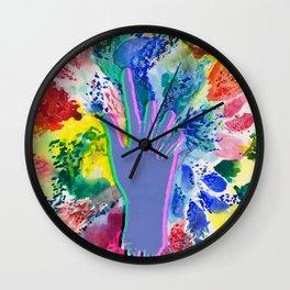 Creative Reach Wall Clock