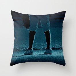 Short Stop Throw Pillow
