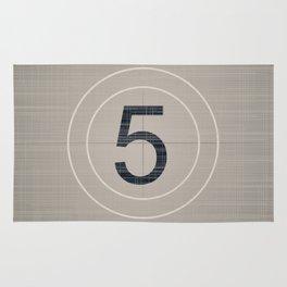 Movie Countdown Rug
