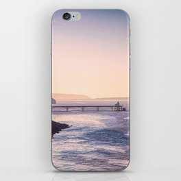 Clevedon Sea front iPhone Skin