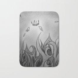 Fallen to Fire Bath Mat