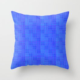 Interpretive Weaving (Nightfall) Throw Pillow