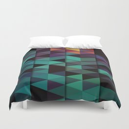 Flames Of Love Duvet Cover