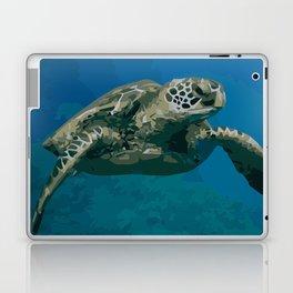 Sea Turtle Ocean blue Water Laptop & iPad Skin