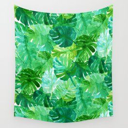 Welcome to the Jungle Palm Wall Tapestry