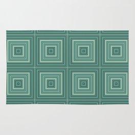 Green plaid  4 Rug
