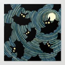 Bats Canvas Print