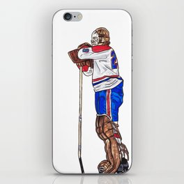 Dryden - The Pose iPhone Skin