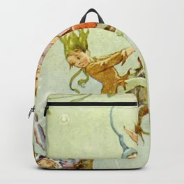 """""""The Pond Fairies"""" by Margaret Tarrant Backpack"""