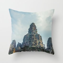 Bayon Throw Pillow